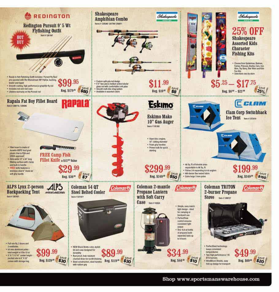 Sportsman Warehouse Black Friday Ad Scan 2013 – Page 5