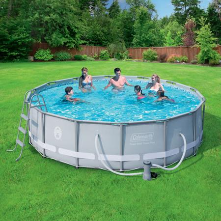 Splashing Deal On Above Ground Swimming Pool Set Nerdwallet