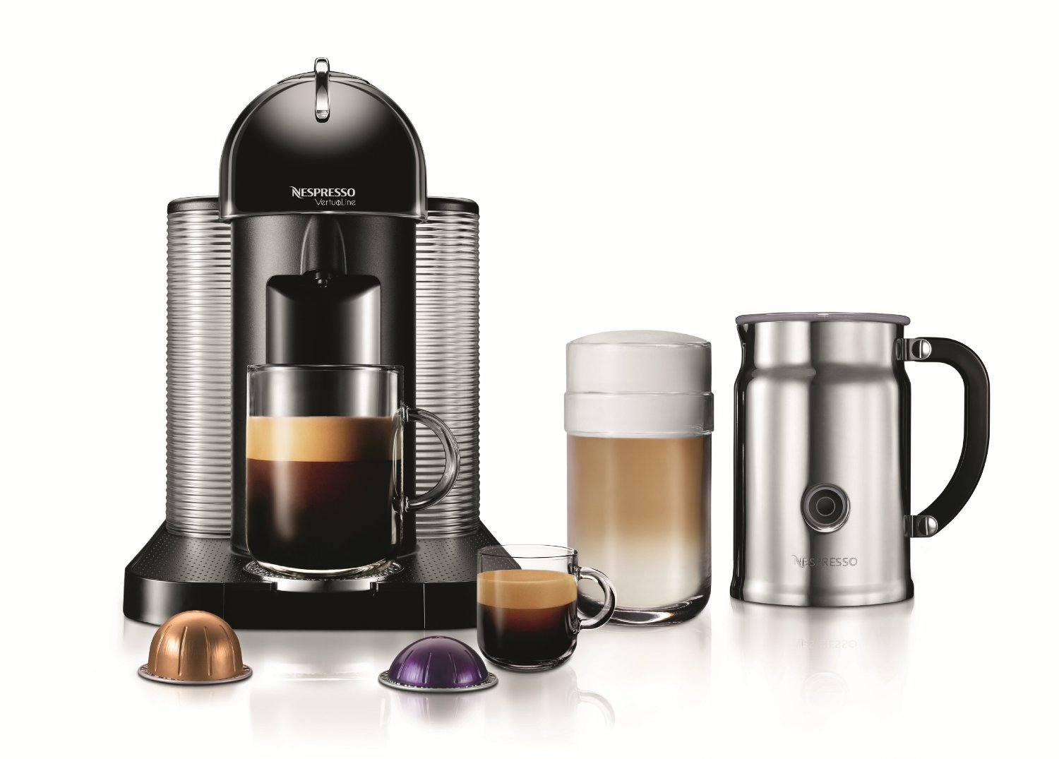 Nespresso VertuoLine Coffee and Espresso Maker at Amazon