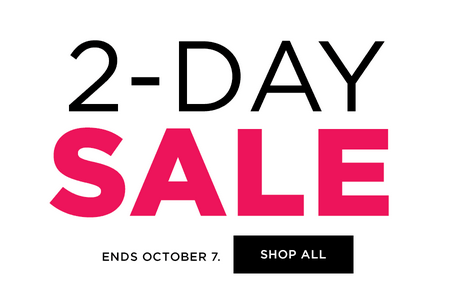 Kohl's 2-Day Sale
