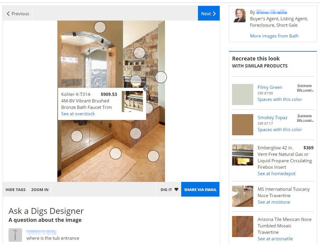 Zillow beyond home listings nerdwallet for Home design zillow