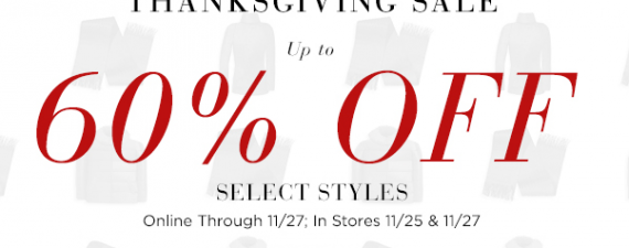 Black Friday Preview Sale at Saks Fifth Avenue