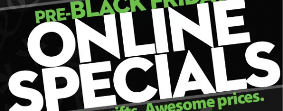 Pre-Black Friday Online Specials at Wal-Mart
