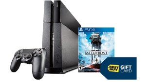 Get $50 Gift Card with PS4 Console at Best Buy