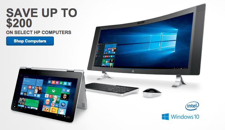 Save Up To 200 On Select Hp Computers At Best Buy
