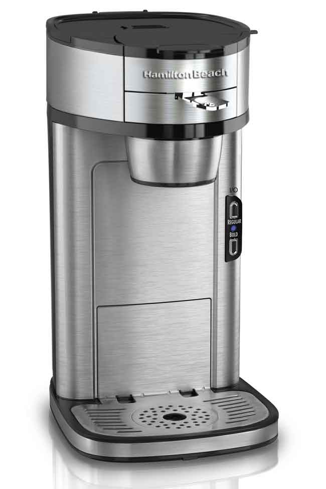 Single Cup Coffee Maker Uses Grounds : The Best Single-Serve Coffee Makers - NerdWallet