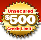 Horizon Gold's $500 Credit Limit Button