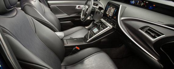 Interior: 2016 Toyota Mirai Fuel Cell