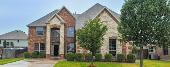 Grand Prairie, Texas (Dallas-Fort Worth, TX); list price: $300,000; square footage: 3,786; beds/baths: 4/2.5