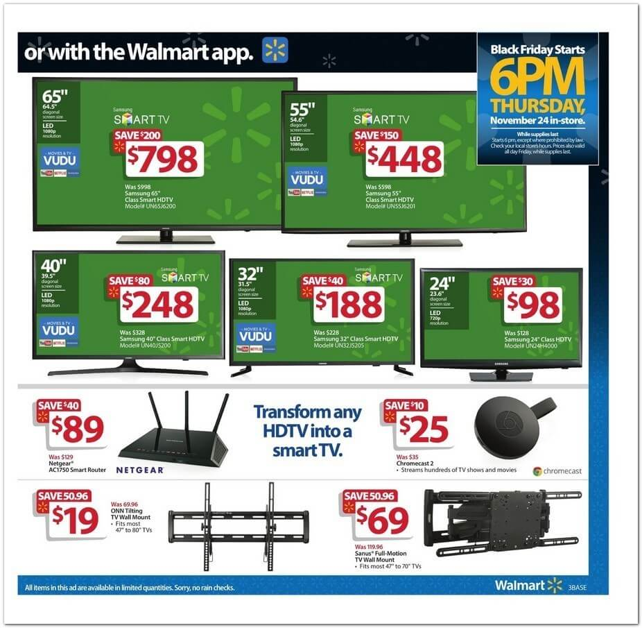 Wal Mart Black Friday 2016 Ad Find The Best Wal Mart