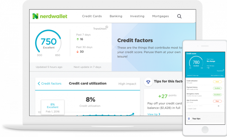 Other Credit Karma services: