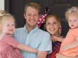 Joanna and Johnny Galbraith with kids