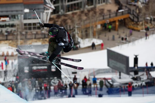 Brita Sigourney says her biggest financial stressor is booking expensive flights to overseas competitions. (Photo credit: Sarah Brunson/U.S. Ski & Snowboard)