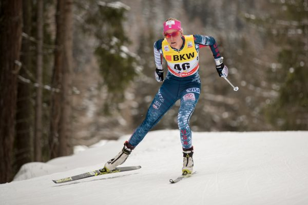 Sadie Bjornsen worked as a part-time nanny early in her skiing career. (Photo credit: © Reese Brown)